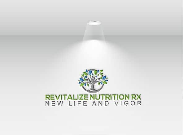 Penyertaan Peraduan #152 untuk Revitalize Nutrition Rx logo design