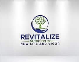 #54 untuk Revitalize Nutrition Rx logo design oleh sohelakhon711111