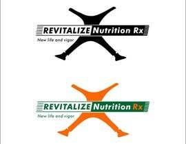 #294 for Revitalize Nutrition Rx logo design by BurhaniGrafix