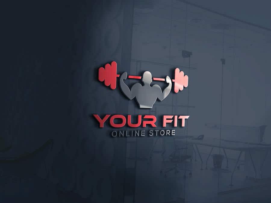 Конкурсная заявка №25 для Design a logo for a new fitness online store