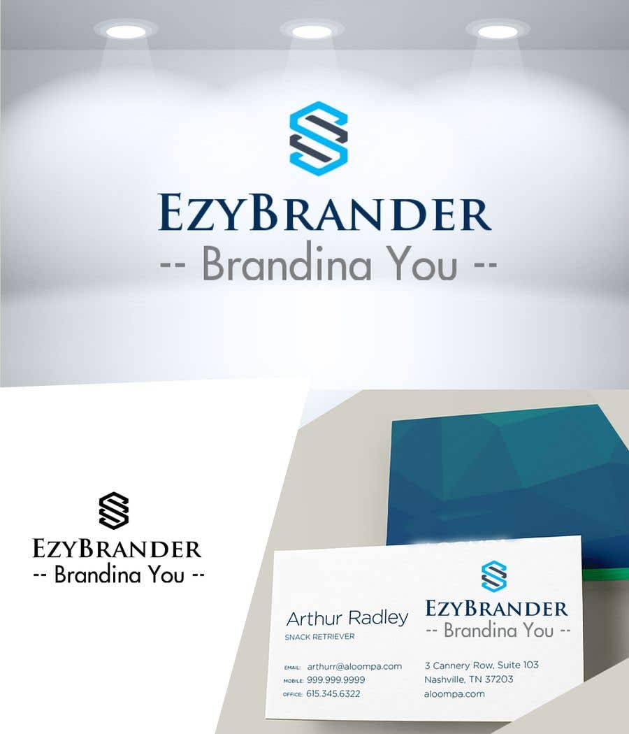 Konkurrenceindlæg #24 for ezybrander.com I need a logo / Corp identity designed for a business which allows customers purchase design services for designing their personal branding. The tag line is EzyBrander - Branding You.
