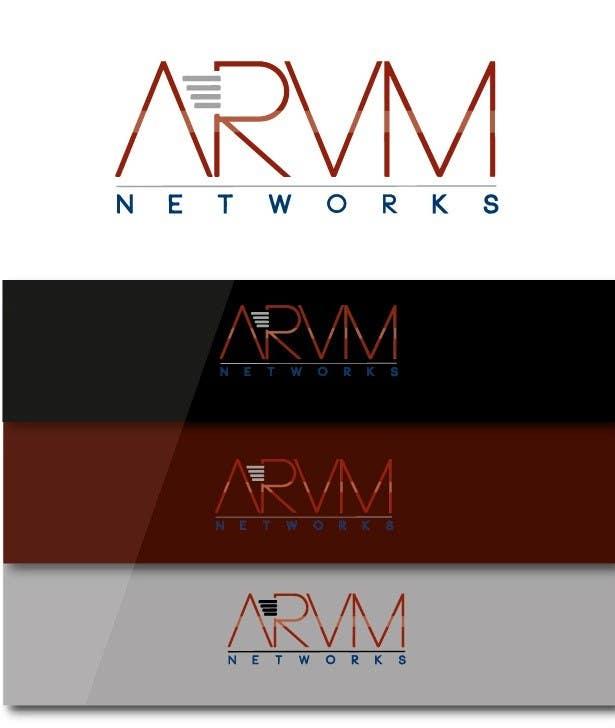 Inscrição nº                                         115                                      do Concurso para                                         Logo Design for ARVM Networks