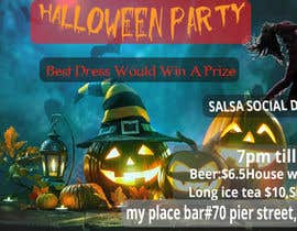 nº 66 pour design a poster for HALLOWEEN Party par afrojahasan06