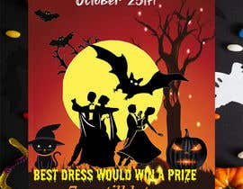 nº 62 pour design a poster for HALLOWEEN Party par Nayem50847