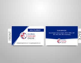 nº 13 pour Design some Business Cards for an English School par malithramanayaka