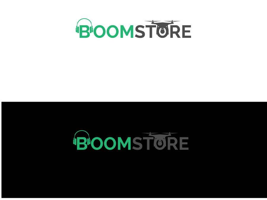 """Penyertaan Peraduan #349 untuk """"BOOM Store"""" webshop logo"""