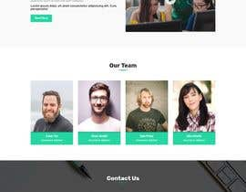 #5 for Webpage - MOCK UP - Layout - User Friendly - mobile - business/company - service by TilokPaul