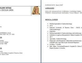 #1 cho Curriculum Vitae - Medical Doctor: Translation From Spanish to English and format bởi Manan17