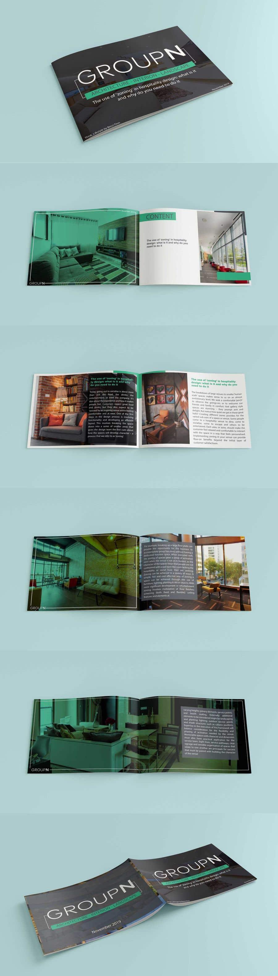 Kilpailutyö #12 kilpailussa Design template for whitepapers