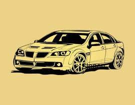 #14 для Tshirt artwork based on a real life car от mdshitolarbid252