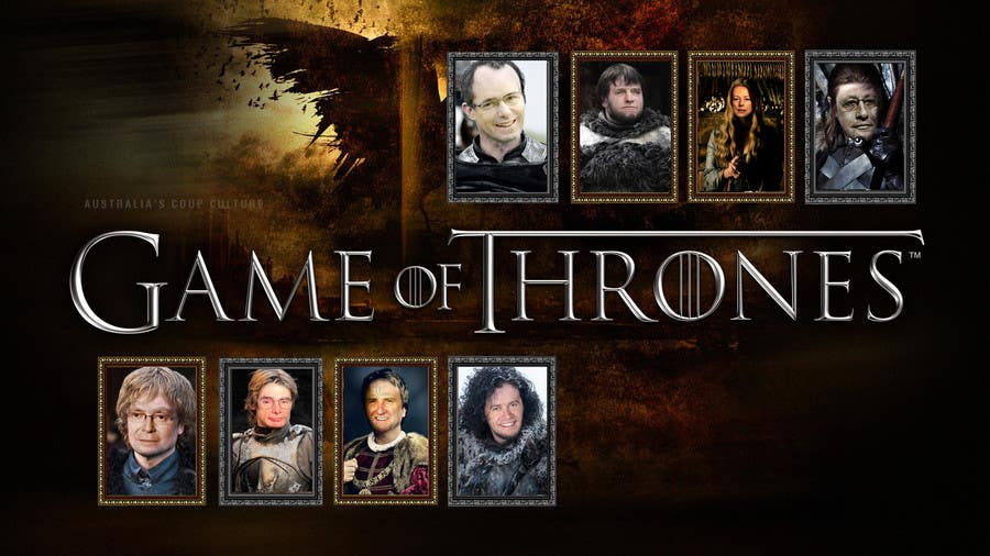 #126 for Photoshop Aussie Politicians into Game of Thrones Mashup by theDesignerz