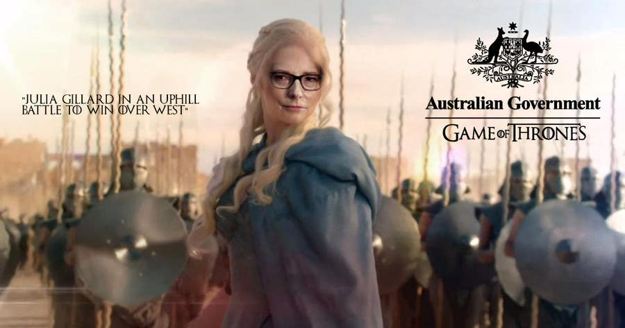 #90 para Photoshop Aussie Politicians into Game of Thrones Mashup de ZuBisou89