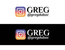 #59 for Name and Instagram Logo for Youtube Nametag af CreativeDesignA1