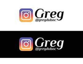 #60 for Name and Instagram Logo for Youtube Nametag af CreativeDesignA1