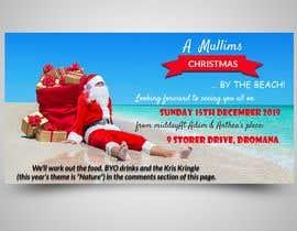 Nro 10 kilpailuun Facebook Event Banner - Christmas Party käyttäjältä monerrong15