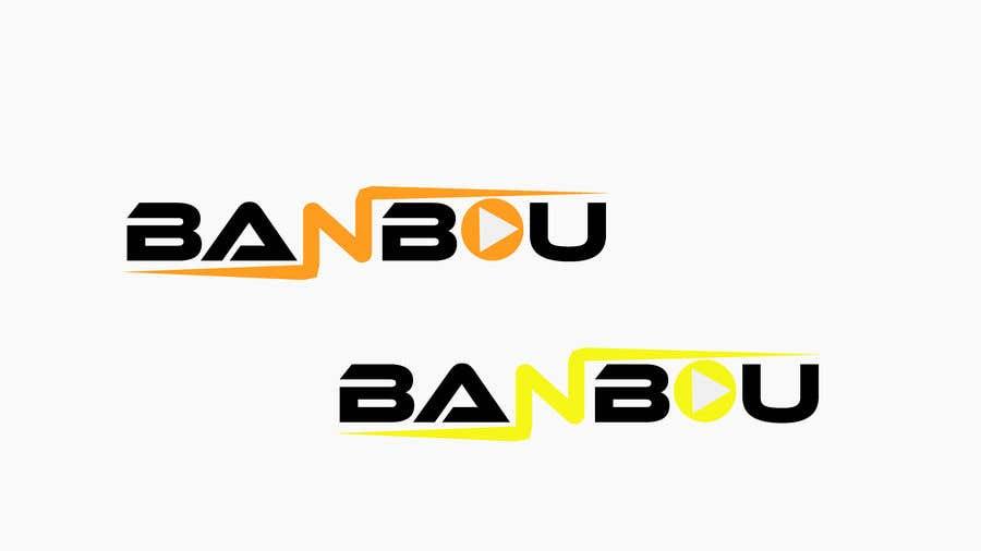 "Kilpailutyö #4 kilpailussa Need a logo for a video streaming Service named ""Banbou""."