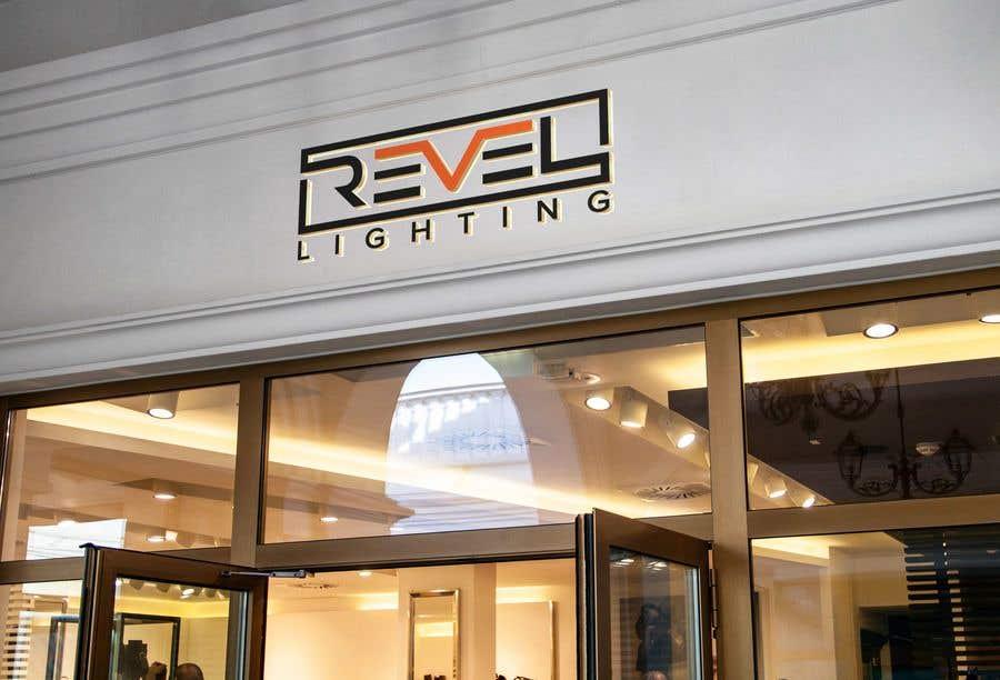 """Penyertaan Peraduan #556 untuk design """"revel"""" a brand logo"""