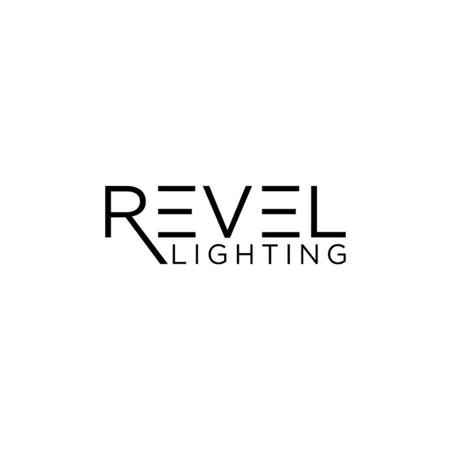 """Penyertaan Peraduan #434 untuk design """"revel"""" a brand logo"""