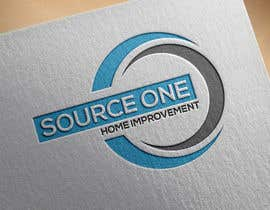 #10 for Create a logo for Source One Home Improvement af farque1988