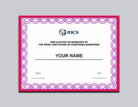 Nro 84 kilpailuun University Certificate käyttäjältä luphy
