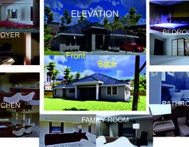 #14 for 3D model / Rendering - residential af jon75ok