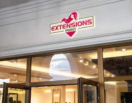 Nro 109 kilpailuun Logo for hair extension hairdresser käyttäjältä mizansocial7