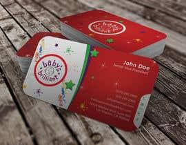 youart2012 tarafından Design some Business Cards for Baby's Brilliant için no 18