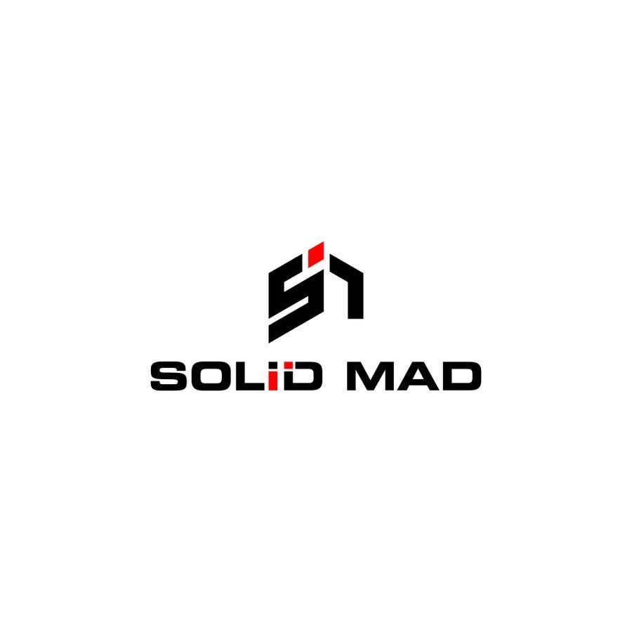"""Intrarea #4256 pentru concursul """"Logo for sportsware and sportsgear brand """"Solid Mad"""""""""""