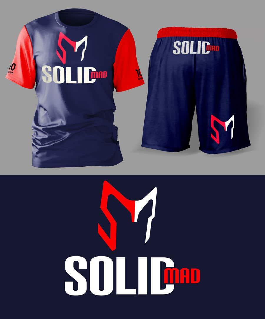 "Penyertaan Peraduan #5227 untuk Logo for sportsware and sportsgear brand ""Solid Mad"""