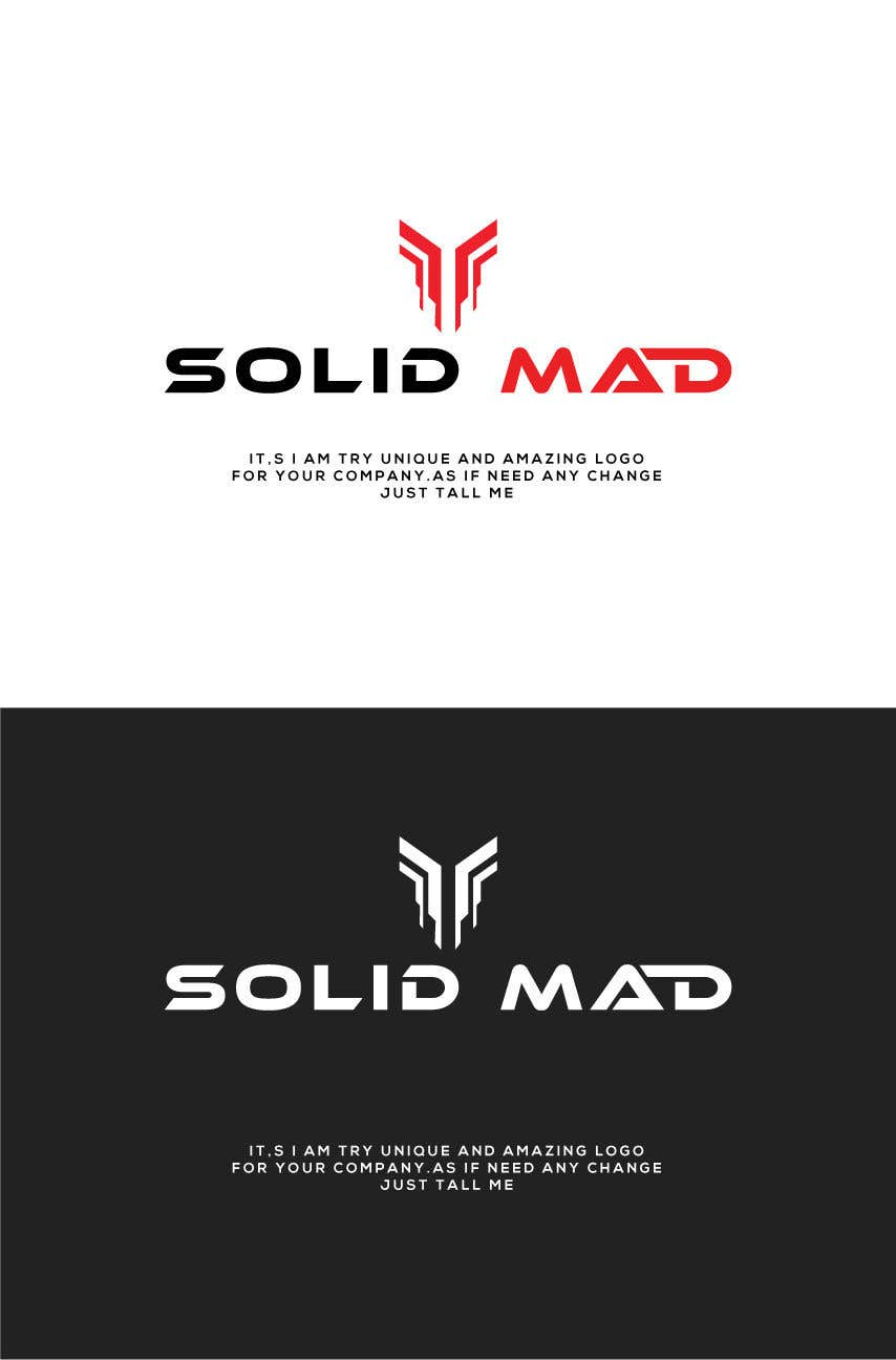 """Intrarea #4191 pentru concursul """"Logo for sportsware and sportsgear brand """"Solid Mad"""""""""""