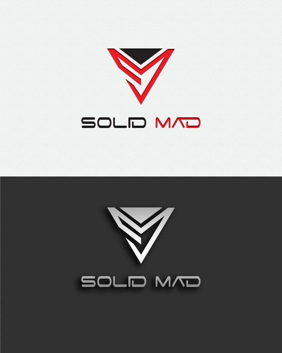 """Intrarea #4600 pentru concursul """"Logo for sportsware and sportsgear brand """"Solid Mad"""""""""""