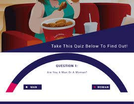 #28 for Design a very simple quiz webpage in a modern and attractive way af bappa85