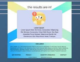 #10 for Design a very simple quiz webpage in a modern and attractive way by aliix7
