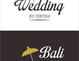 #110 untuk Design a Logo for Bali Wedding by Tirtha oleh haniffaza