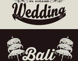 #13 untuk Design a Logo for Bali Wedding by Tirtha oleh tommypradhipta