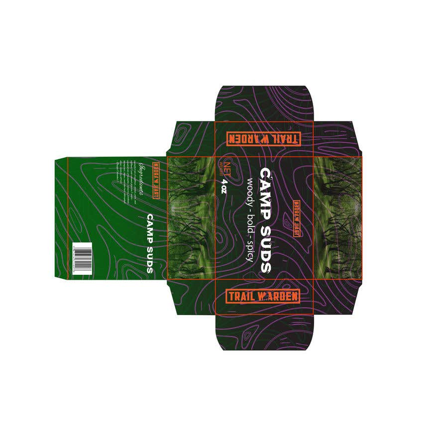 Kilpailutyö #7 kilpailussa Need a Unique Custom Box design for outdoor brand