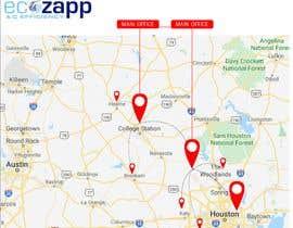 nº 42 pour Need Graphic of Service Area Map par ExpertSajjad