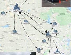nº 37 pour Need Graphic of Service Area Map par mohsinsdk