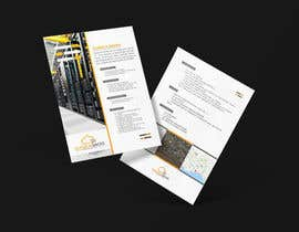 #34 for Small Brochure of a Datacenter Project by designdeals