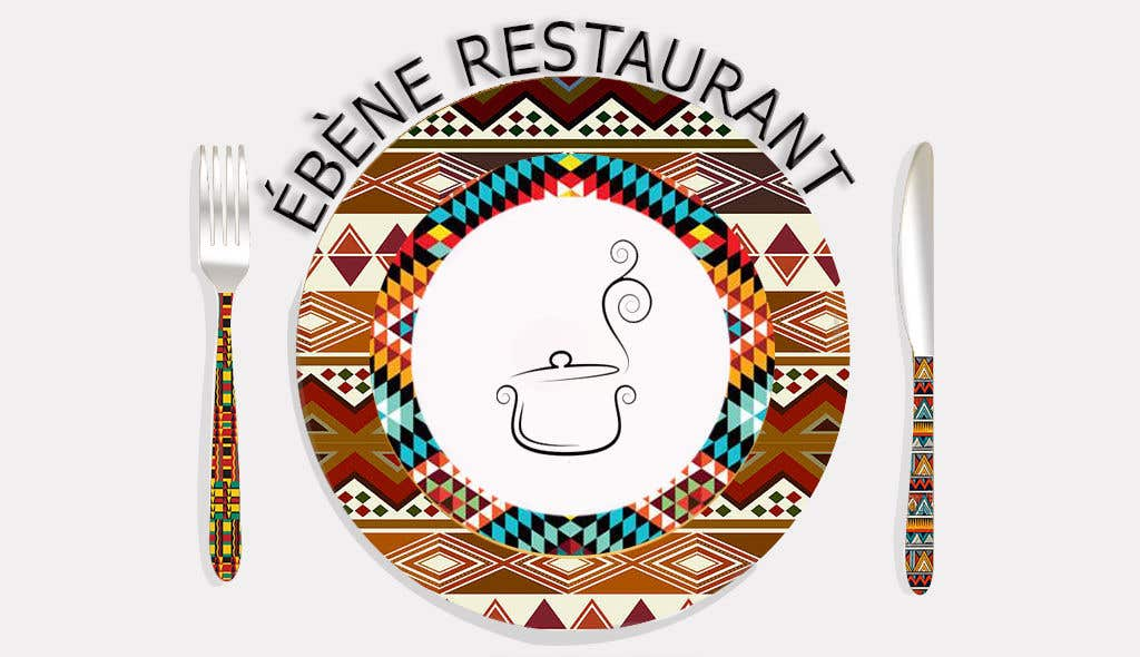 Contest Entry #66 for I need this draft logo to be done properly for a Restaurant logo. Kindly use the fonts and prints given to inspire and make a proper real professional logo.