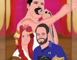Nro 20 kilpailuun Fun comic book cover käyttäjältä moustafahussin