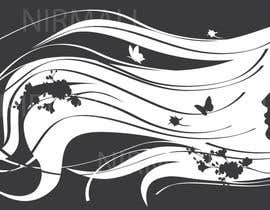 #11 untuk Hair art for wall decal oleh kaushalyasenavi