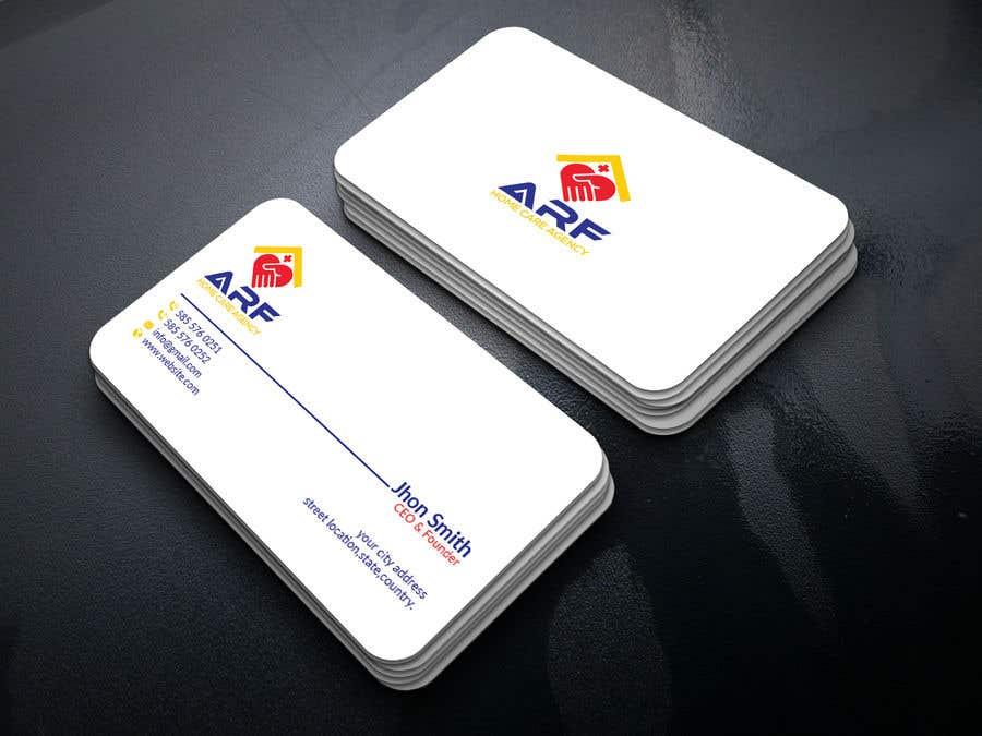 Penyertaan Peraduan #163 untuk Design a company business card