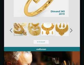 #7 for Website-Design for a OnePage (no coding) for handmade jewelry and other stuff by Mhasan626297