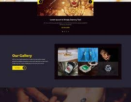 #23 for Website-Design for a OnePage (no coding) for handmade jewelry and other stuff by Techlover1952