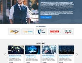 nº 118 pour Website-Design for a OnePage (no coding) for IT-support par nikil02an