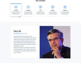 nº 49 pour Website-Design for a OnePage (no coding) for IT-support par hswebdevelopment