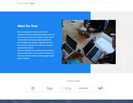 nº 68 pour Website-Design for a OnePage (no coding) for IT-support par hswebdevelopment
