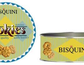 #21 cho Retro design of Danish Butter cookie in round  tin bởi anamariacionca08