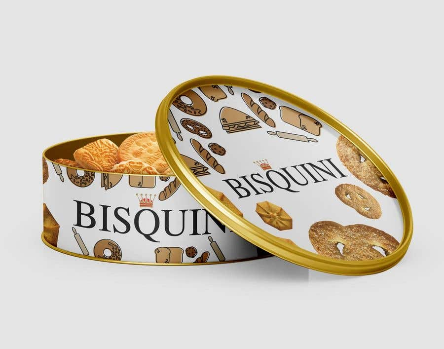 Bài tham dự cuộc thi #3 cho Retro design of Danish Butter cookie in round  tin